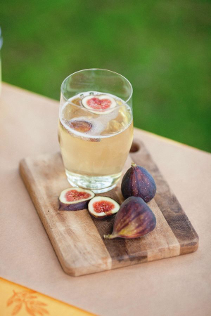 Fig and Champagne Recipe from Valley & Co