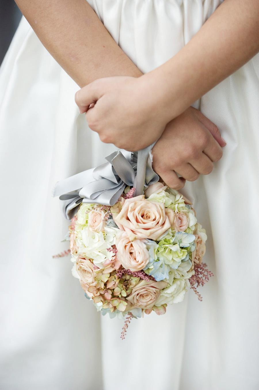 Шары букет из цветов своими руками