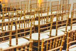 Gold Chivari Ceremony Chairs