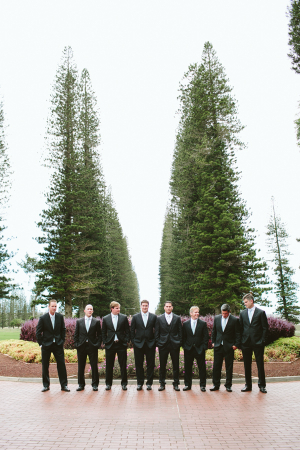 Groomsmen Hawaii Wedding
