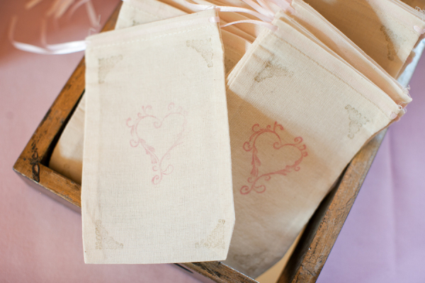 Hand Stamped Candy Bags