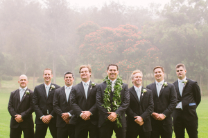 Hawaii Wedding Groomsmen