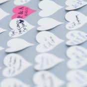 Heart Signature Guest Book