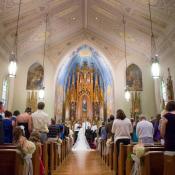 Intricate Ohio Church Ceremony Venue