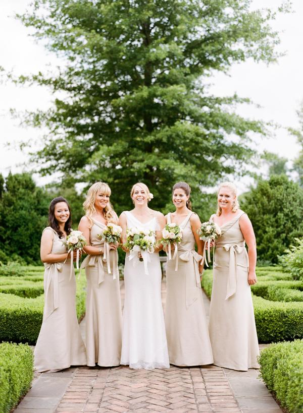 Jenny Yoo Champagne Bridesmaids
