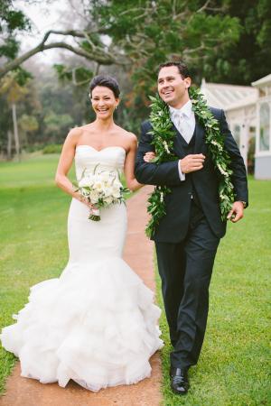 Lanai Wedding Rebecca Arthurs