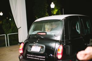 London Cab Getaway Car