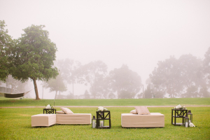 Lounge Area in Grassy Field