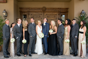 Metallic Bridal Party