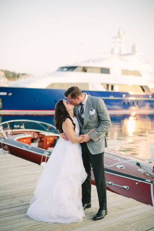 Michigan Harbor Wedding Weber Photography