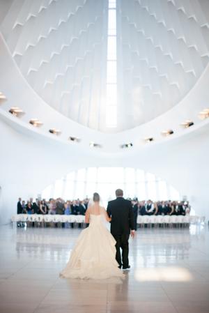 Milwaukee Art Museum Wedding Ceremony