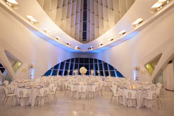 Milwaukee Art Museum Wedding Venue