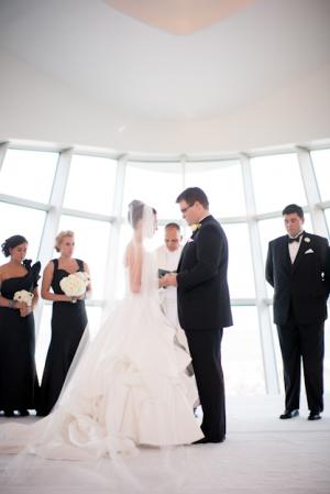 Modern Art Museum Wedding