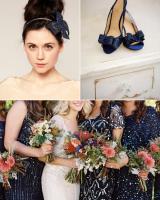 Navy Sequin Wedding Inspiration