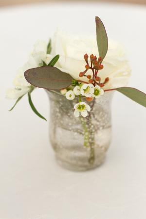 Organic Flowers in Bud Vase