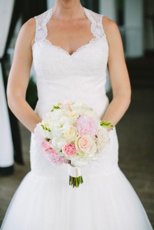 Pastel Floral Bridal Bouquet