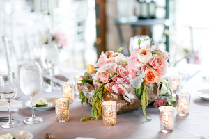 Pink Gray Reception