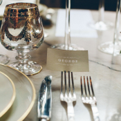 Place Card in Fork