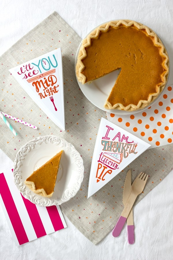 Printable Pie Leftover Labels