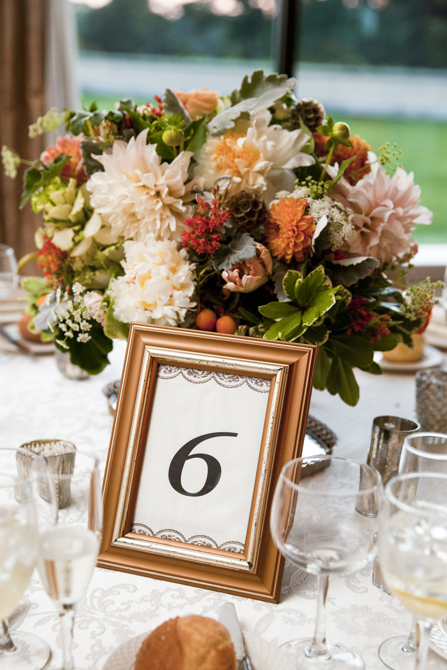 Reception Table Numbers in Frames - Elizabeth Anne Designs: The ...