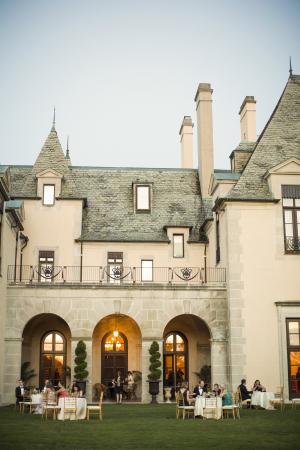Reception on Castle Lawn