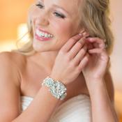 Rhinestone Cuff Bridal Jewelry