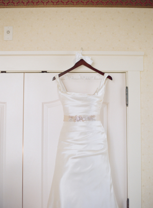 Rhinestone Embellished Bridal Gown