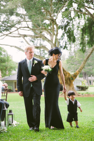 Ring Bearer in Black