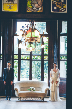 Vintage Gothic Wedding Inspiration