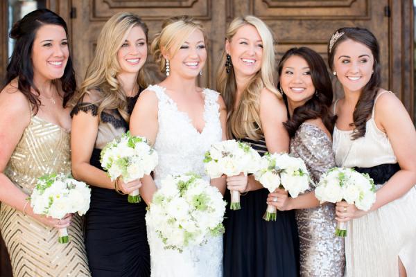 Vintage Inspired Bridesmaids Dresses