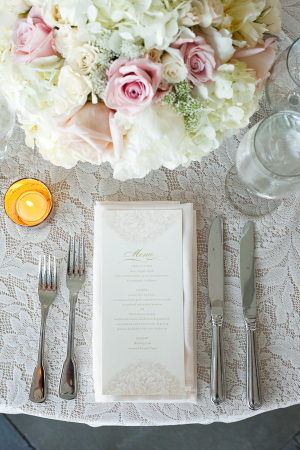 Vintage Lace Table Linens