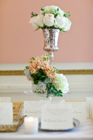 Vintage Style Escort Card Table