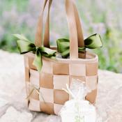 Woven Wedding Gift Bag