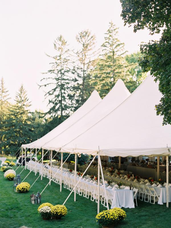 Backyard Tent Reception Ideas Elizabeth Anne Designs The - Backyard reception ideas