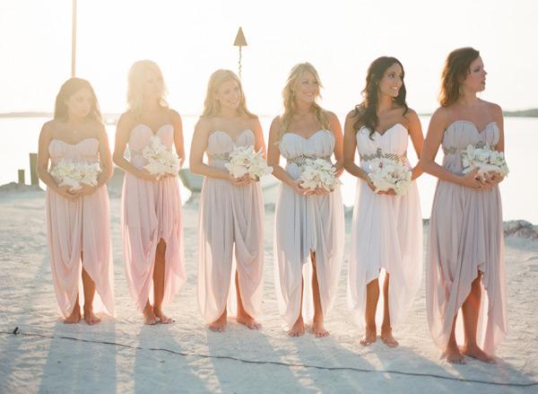Beach Bridesmaids Dresses Elizabeth Anne Designs The