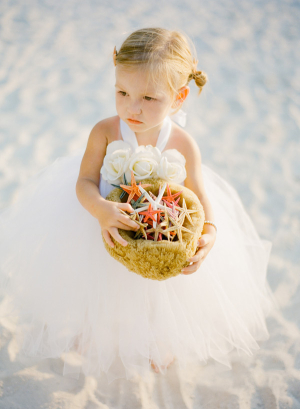 Beach Flower Girl