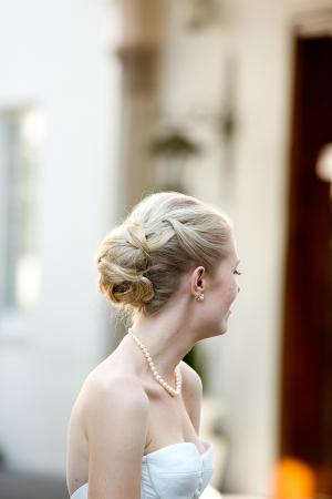 Beautiful Bride Updo