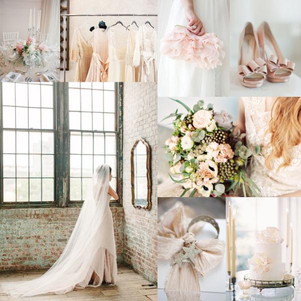 Blush Silver Wedding Colors