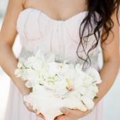 Bouquet in Seashell