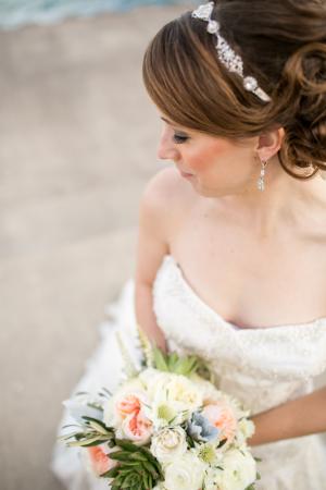 Bridal Silver Headpiece