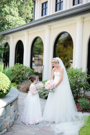 Bride and Flower Girl1