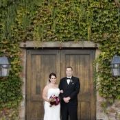 Bride and Groom Winery Wedding