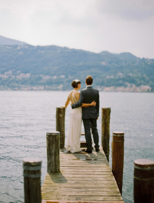 Bride and Groom on Dock1