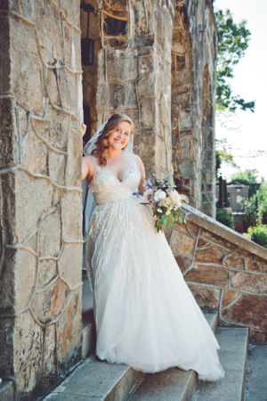Bride at Stone Church