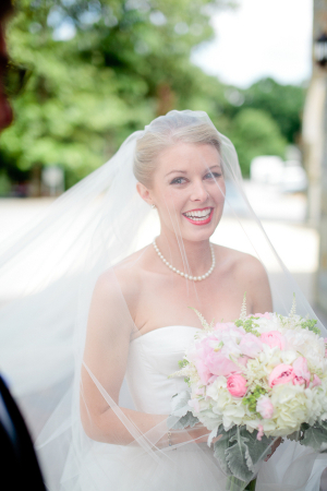 Bride in Pearls