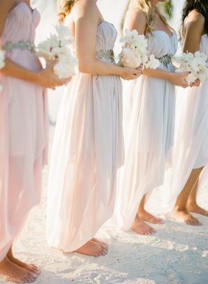 Bridesmaids on Beach