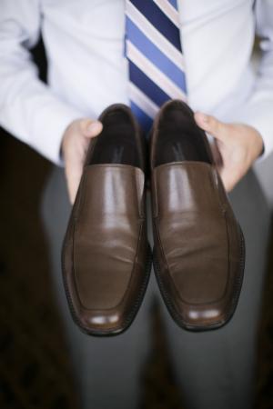 Brown Shoes Groom