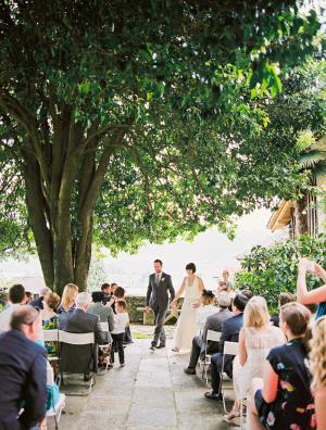 Casual Italian Wedding Ceremony