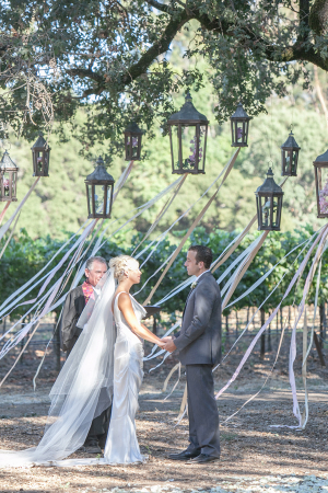 Ceremony with Ribbons and Lanterns