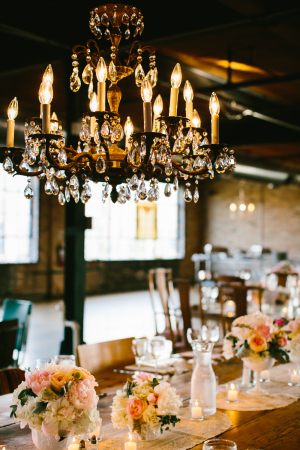 Chandeliers at Reception Venues